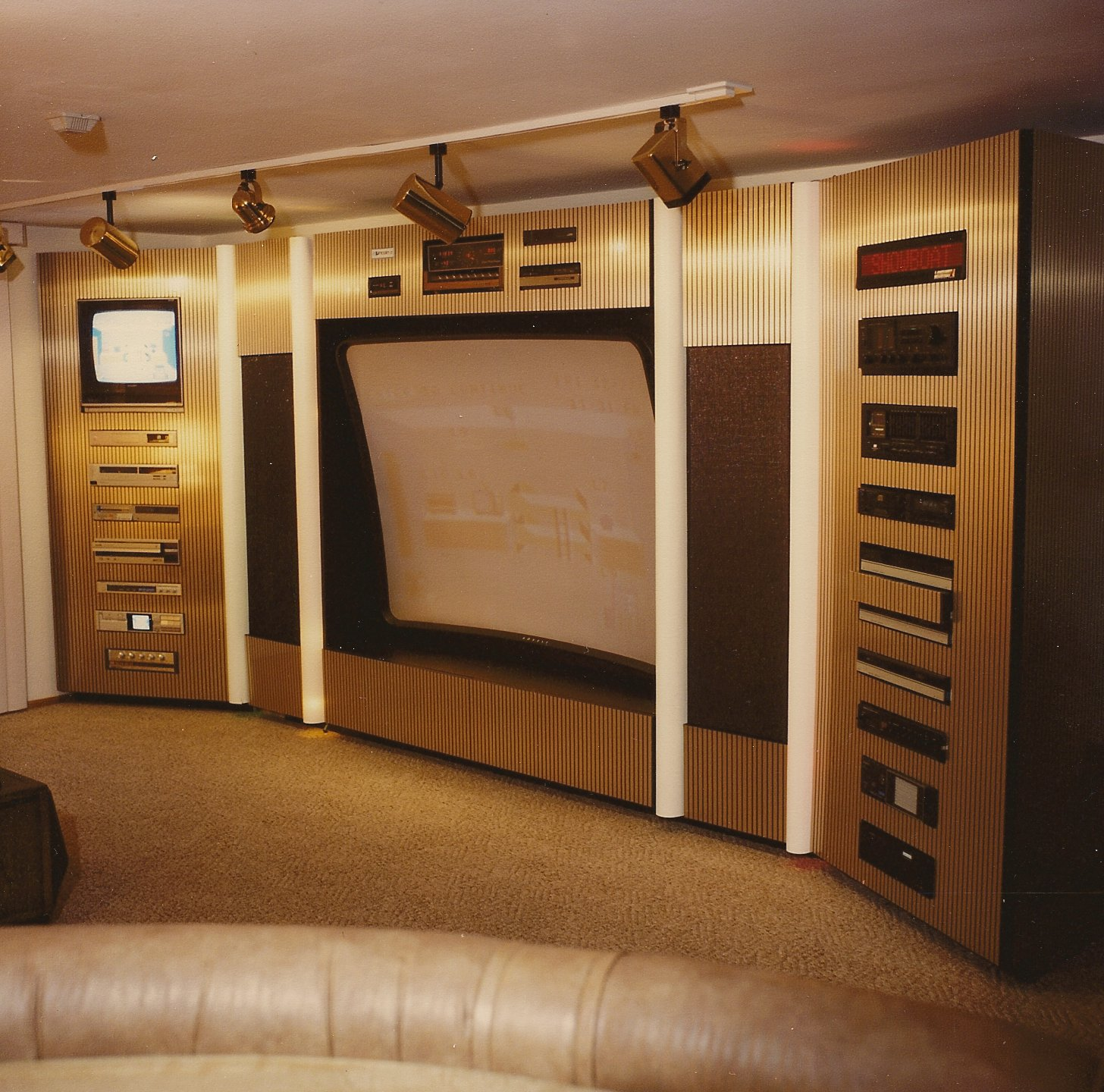 Home Cinema Room Home Theater: Installation